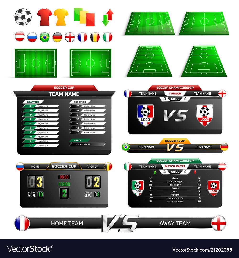 Sport program broadcast elements