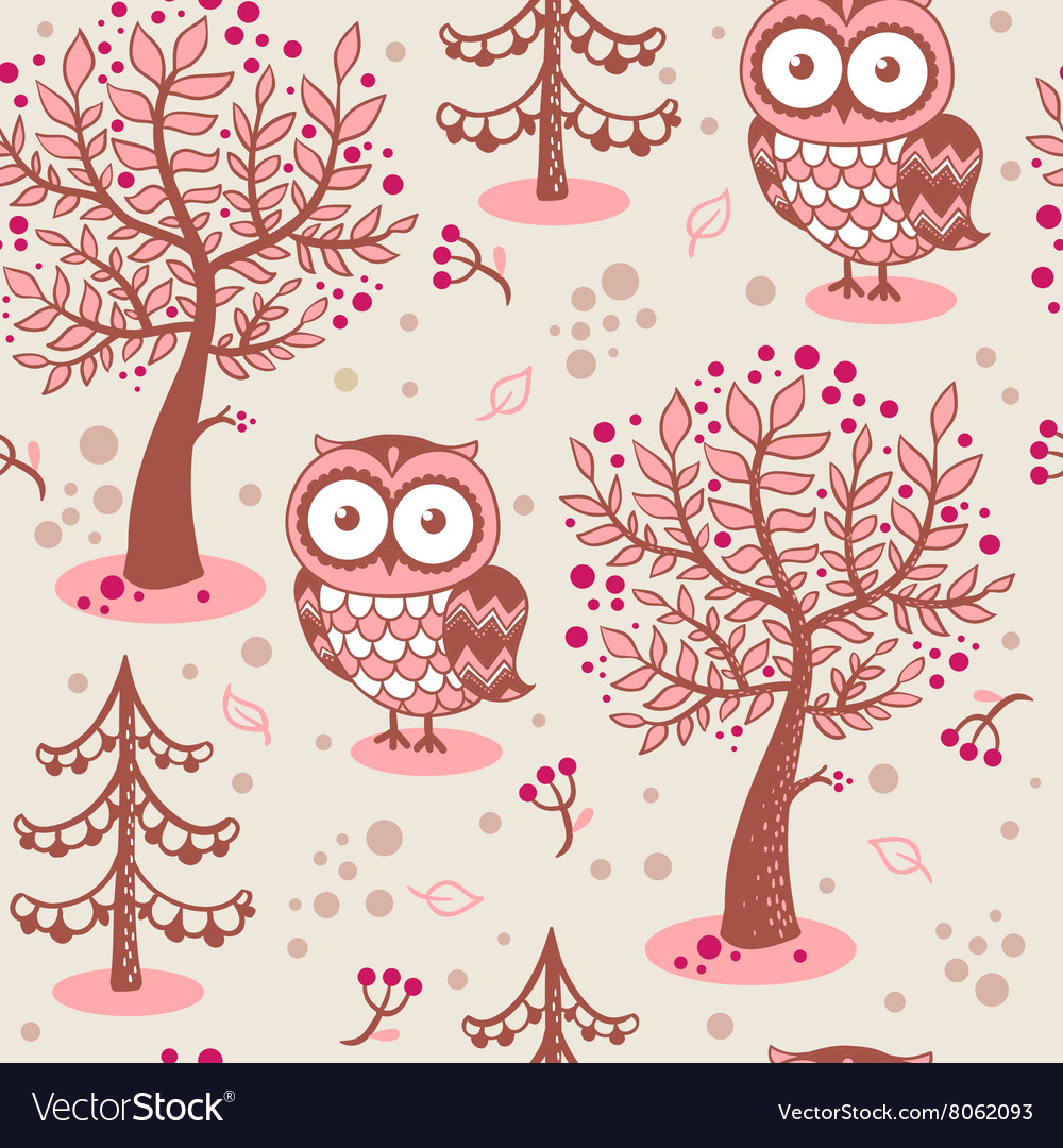 Background with owls