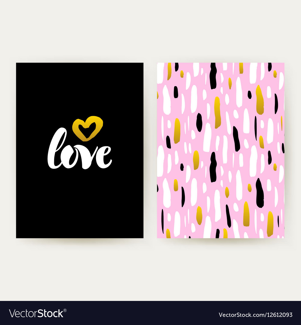Love 80s Funky Style Posters vector image
