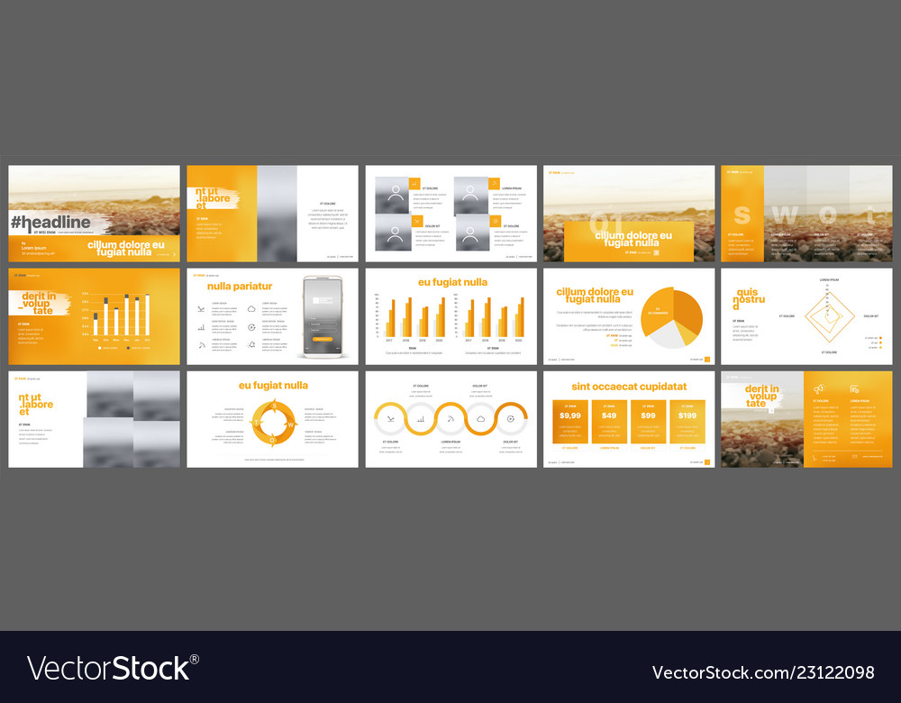 Elements for infographics and presentation
