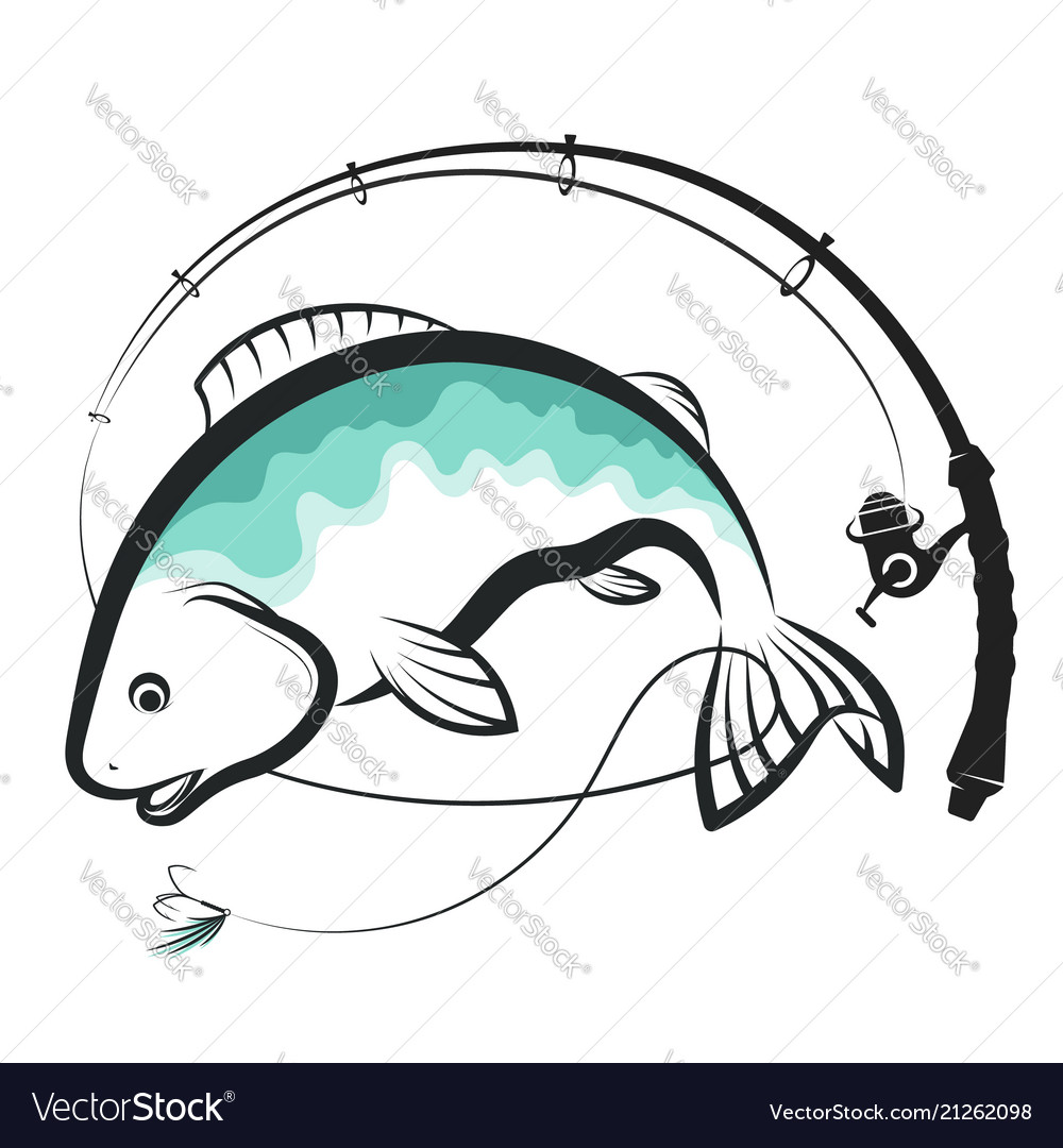 Fish and spinning design