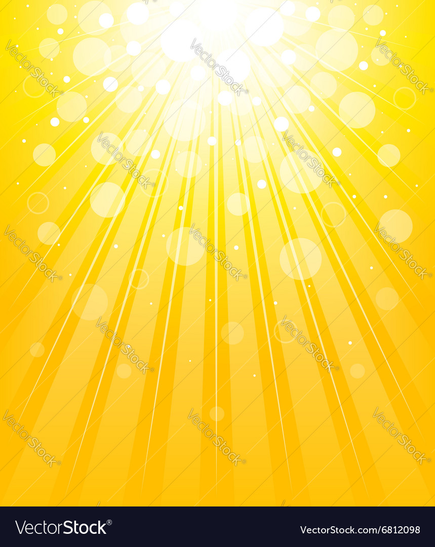 Shining background vector image