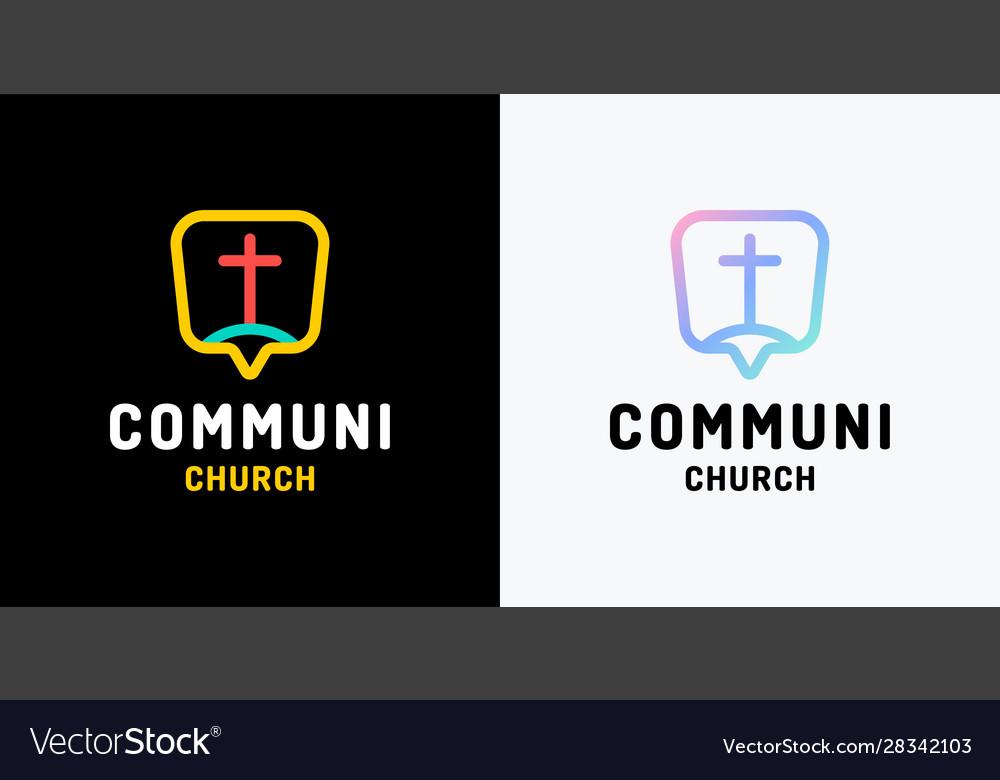 Church logo christian symbols the cross jesus
