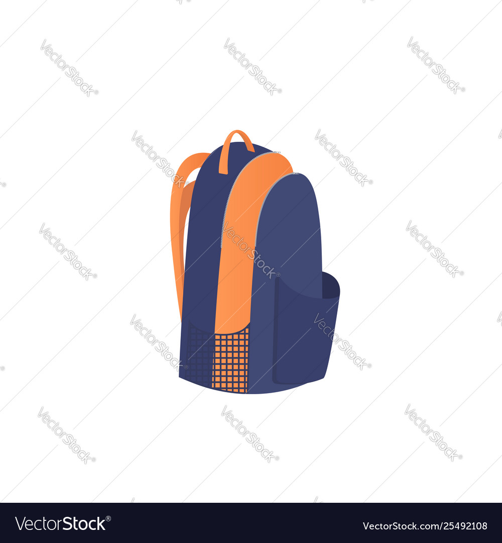 Backpack icon isolated on white background sport