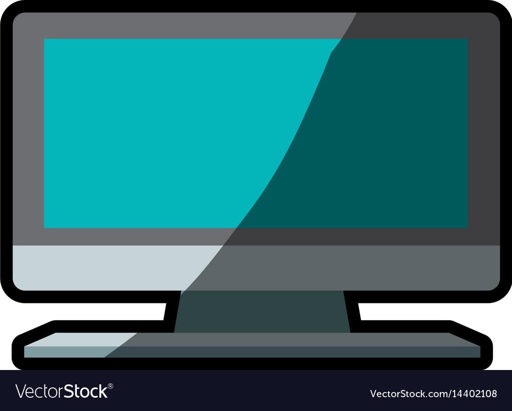 Television display plasma shadow
