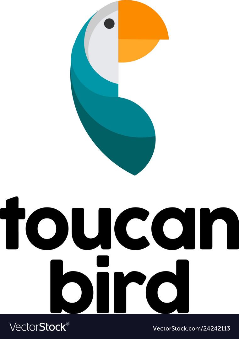 Toucan bird logo design inspiration