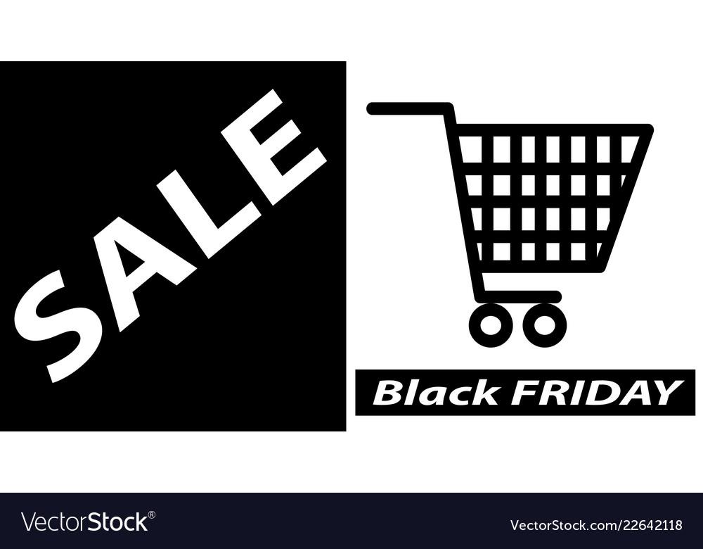 Black friday sale banner poster layout design