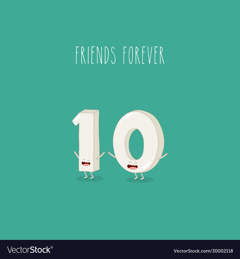 One and zero funny numbers are friends forever