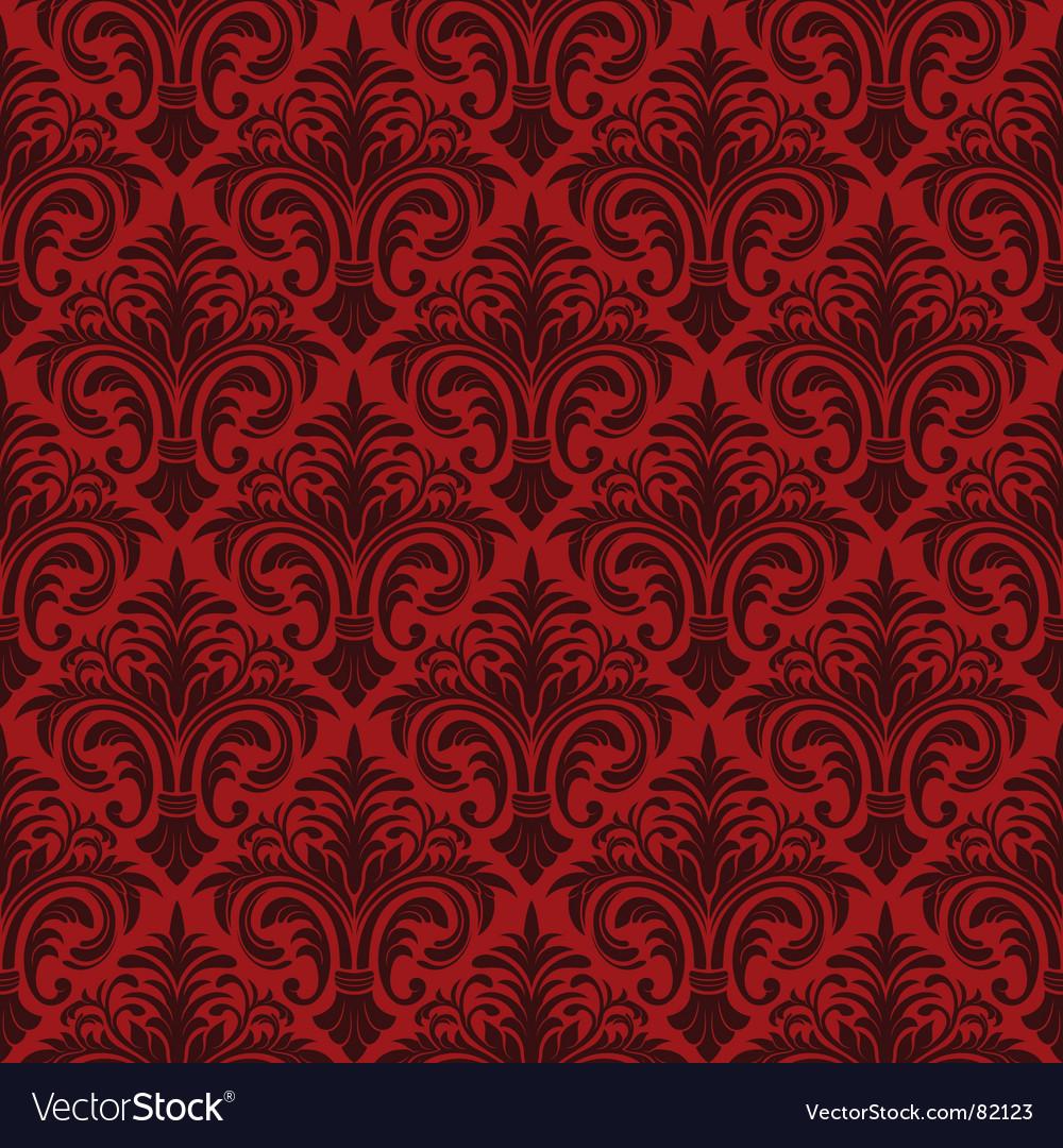 Classic wallpaper vector image
