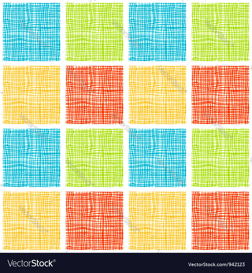 Fabric seamless background for your design vector image
