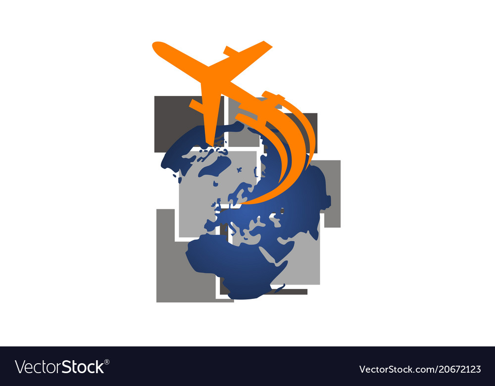 Global traveling travel around world