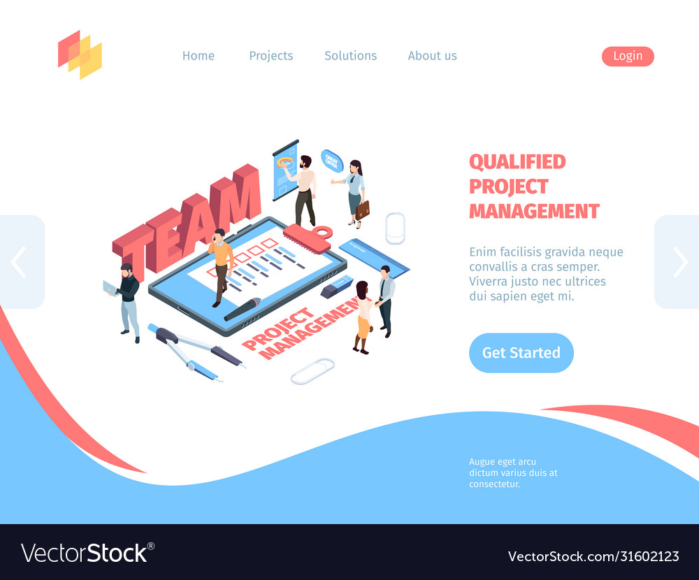 Group management project isometric