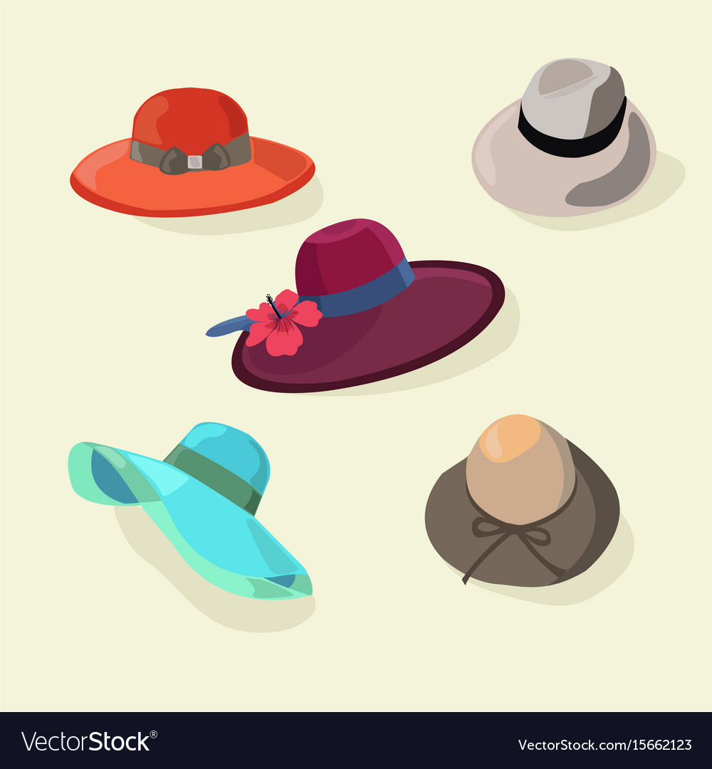 Hats set fashion for men and women style