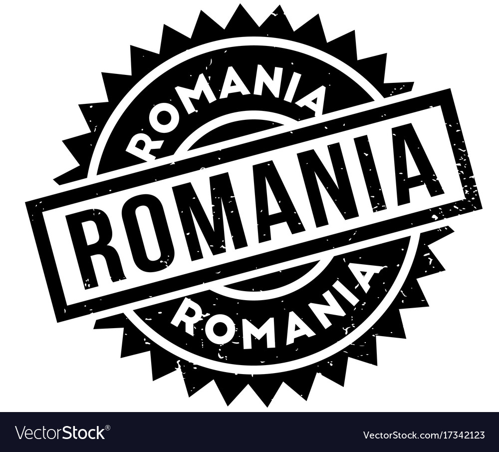 Romania rubber stamp