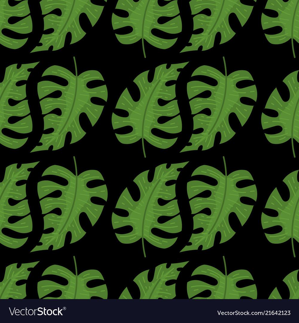 Summer tropical seamless pattern