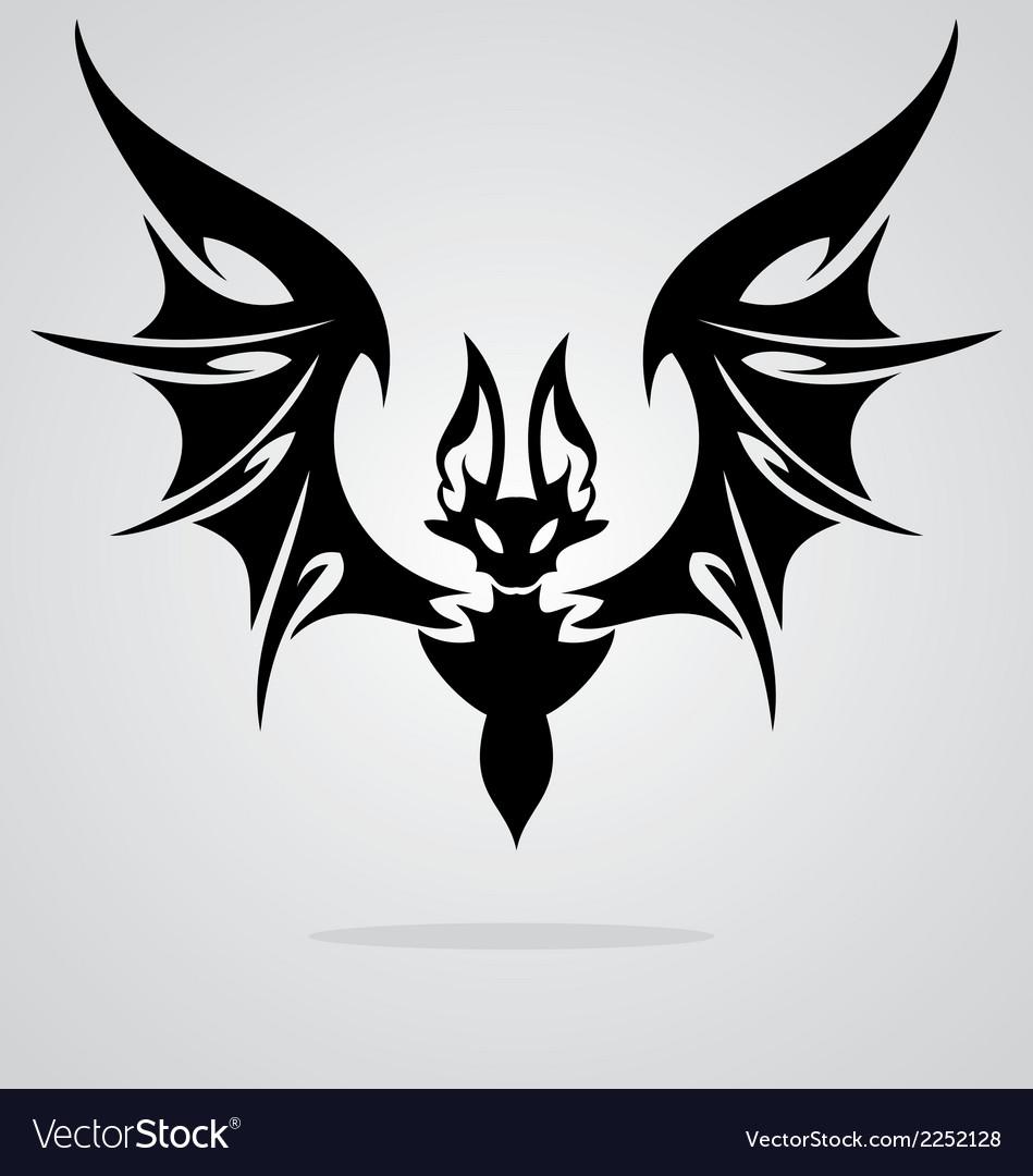 Bat Tattoo vector image