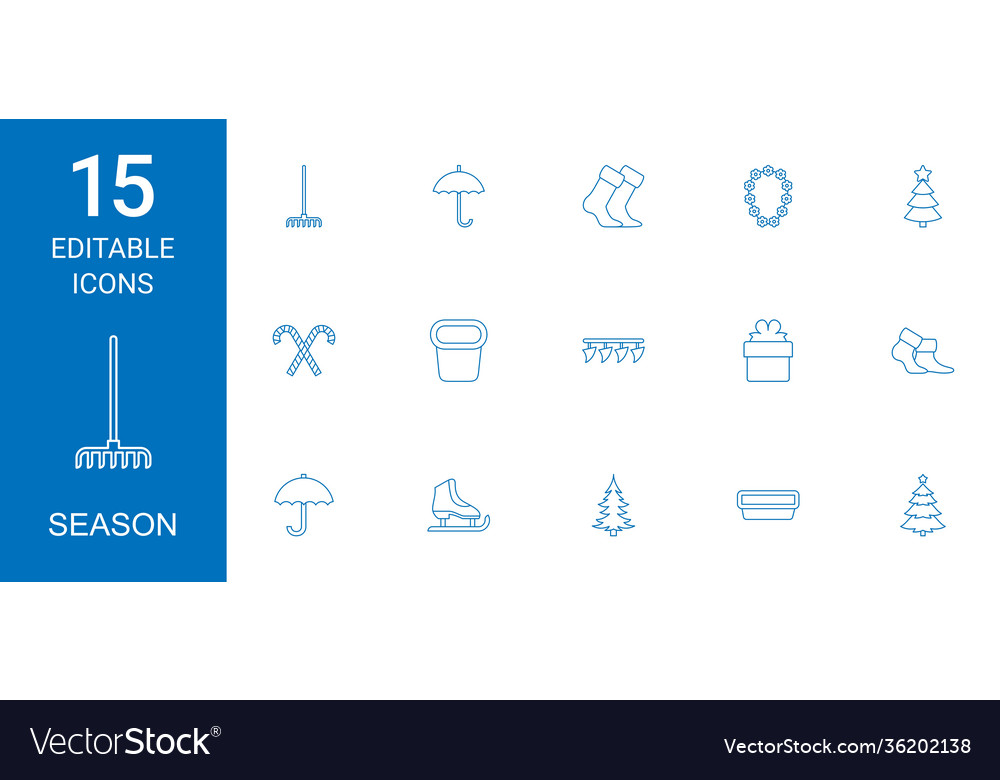 15 season icons