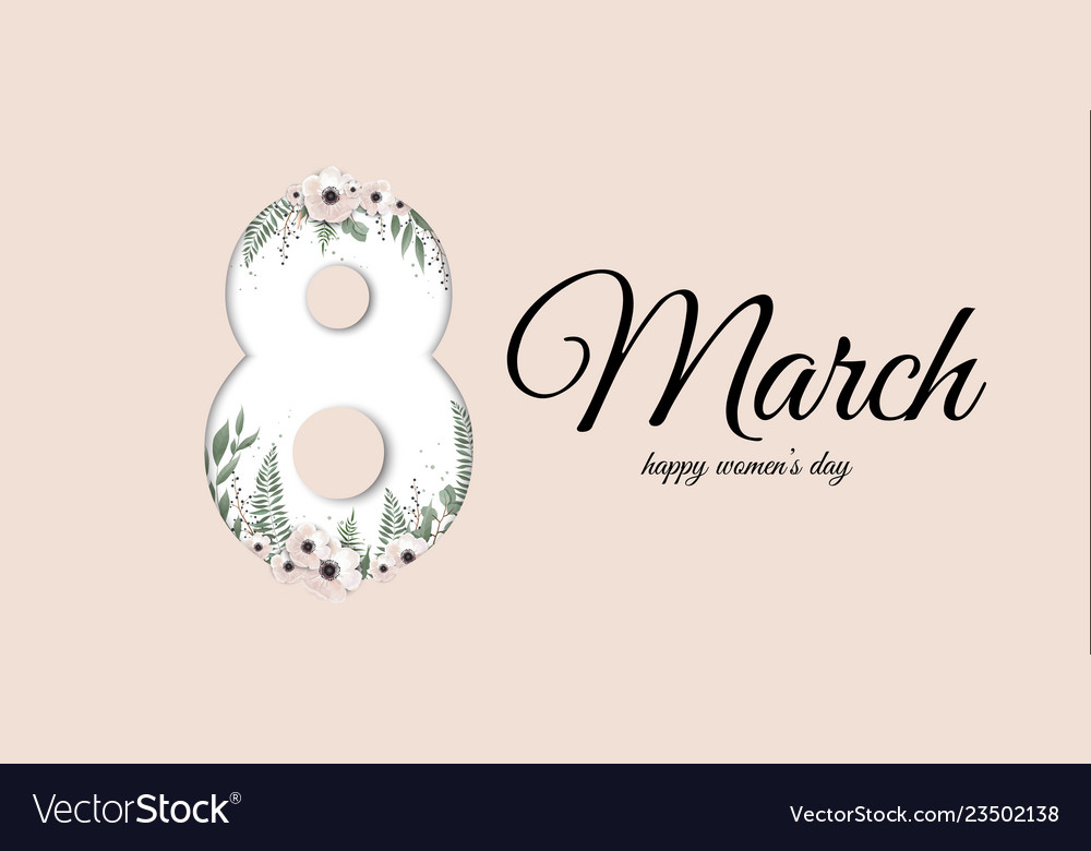 Banner for the international women s day greeting
