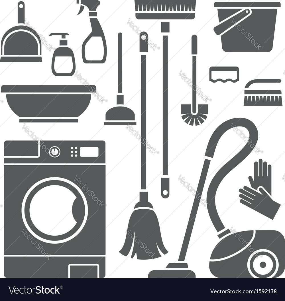 Cleaning symbols