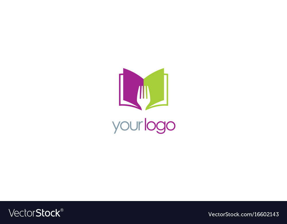 Book recipe logo