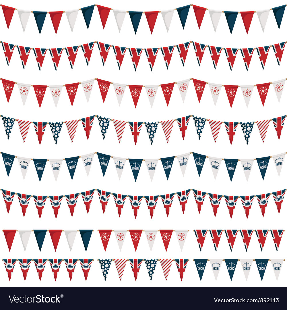 Uk party bunting