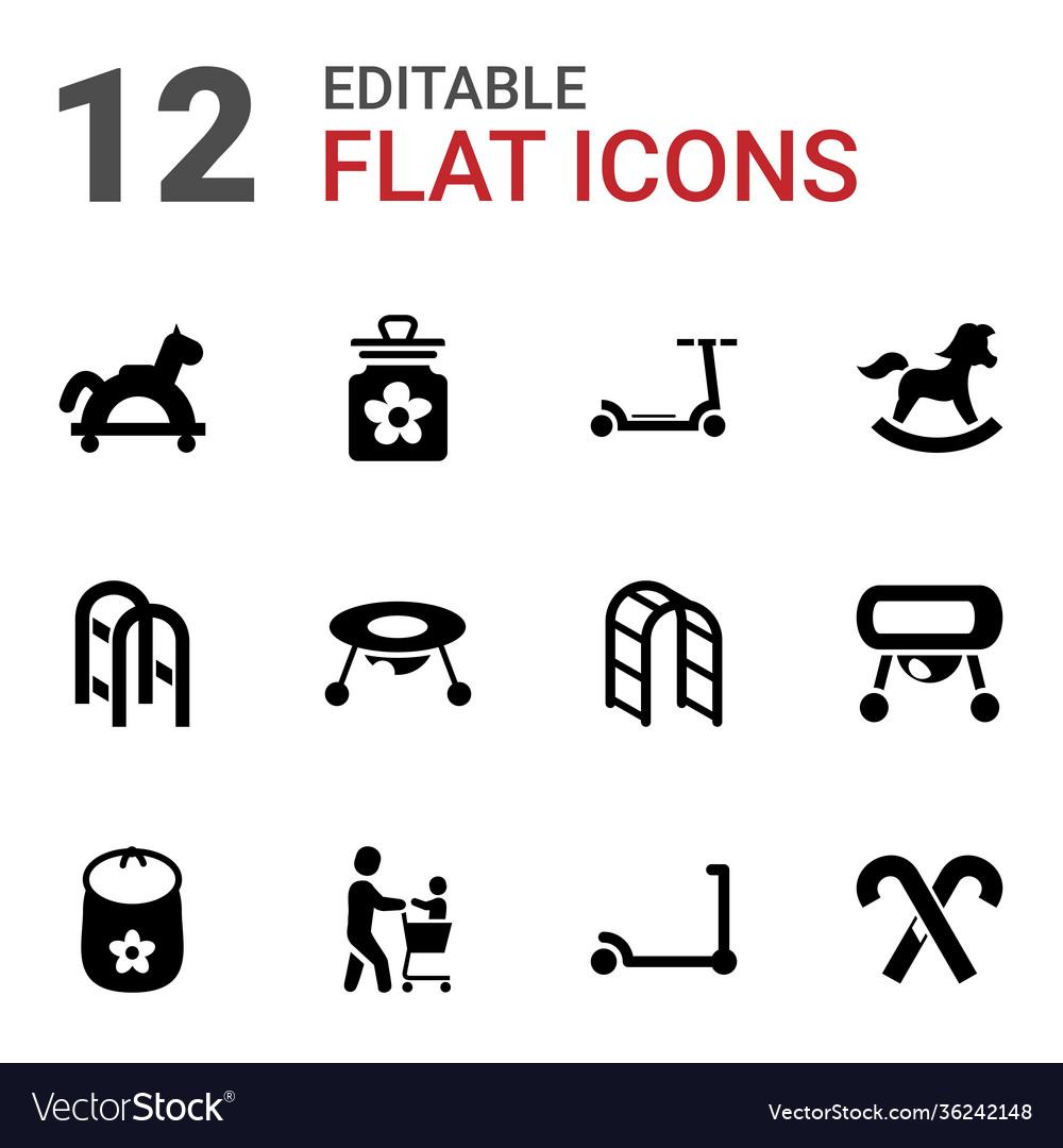 12 kids icons