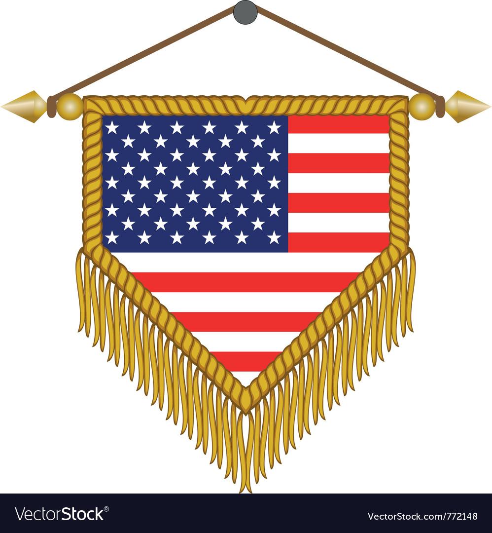 Flag of usa america