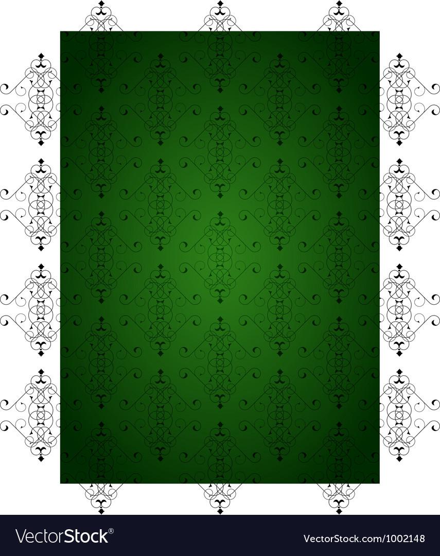 Green little background