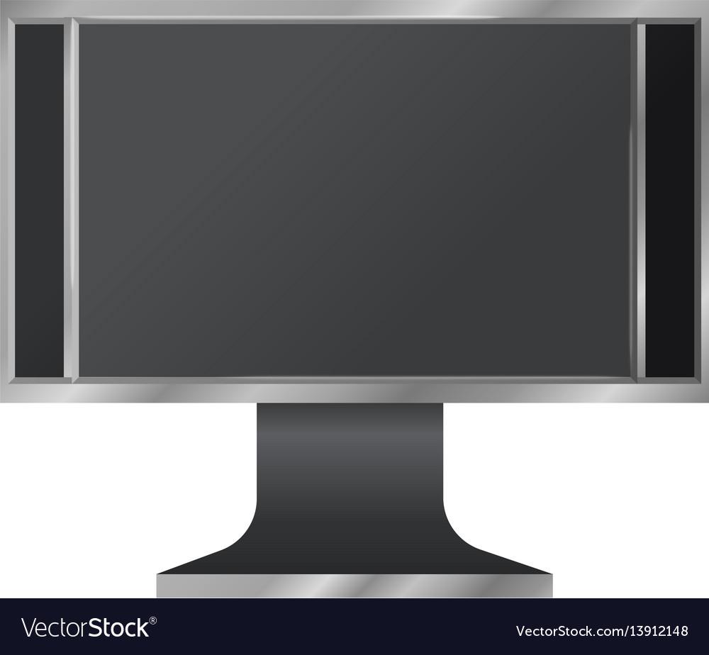 Modern digital computer screen mockup