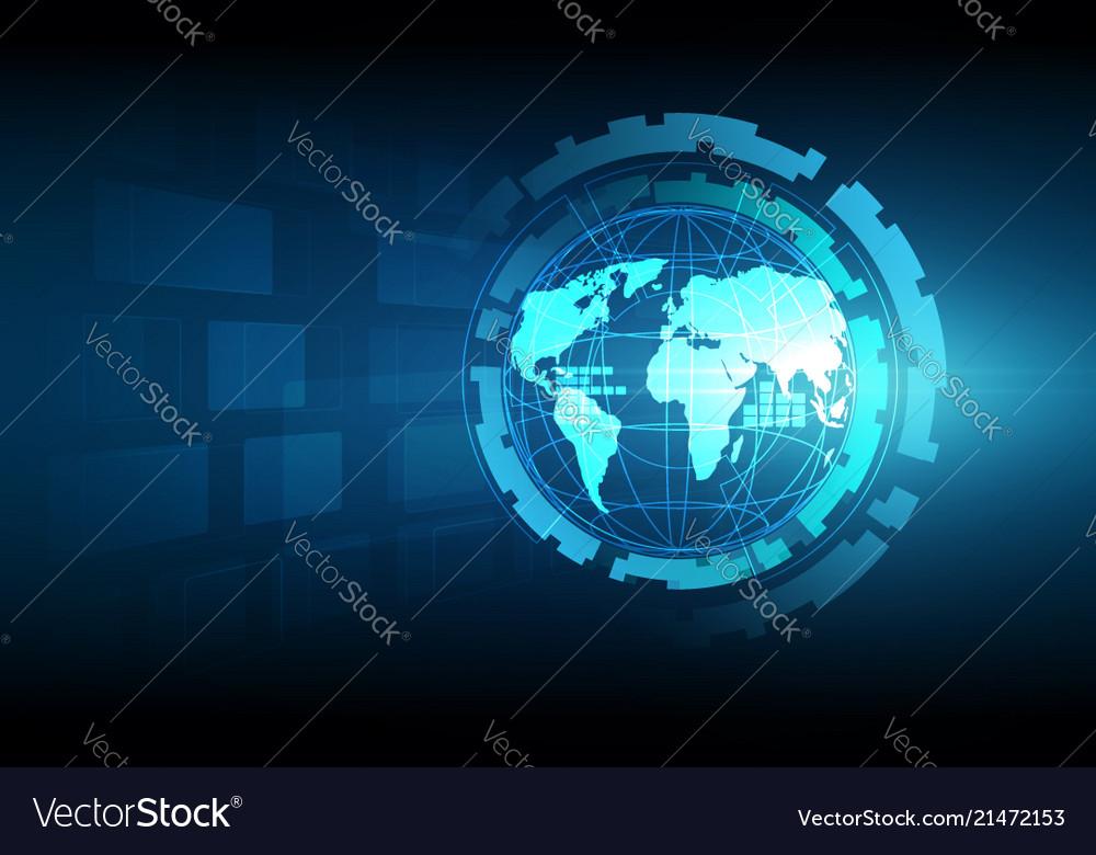 Best internet concept of global business globe