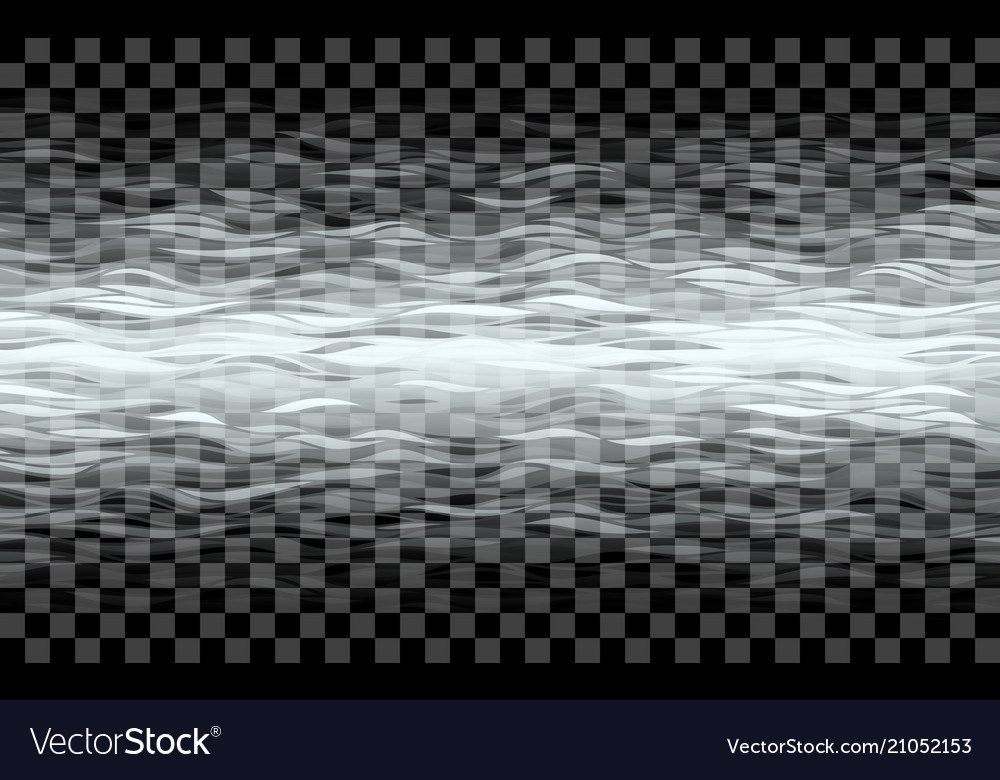 Transparent waves on checkered background
