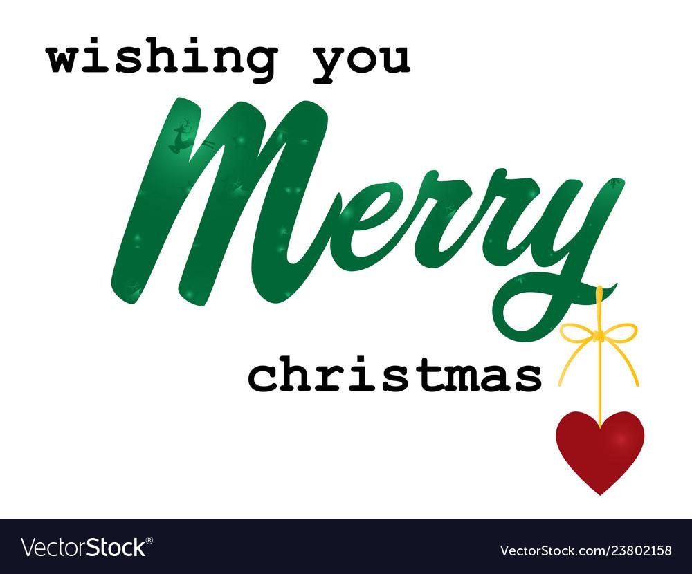 Christmas holiday season background with wishing