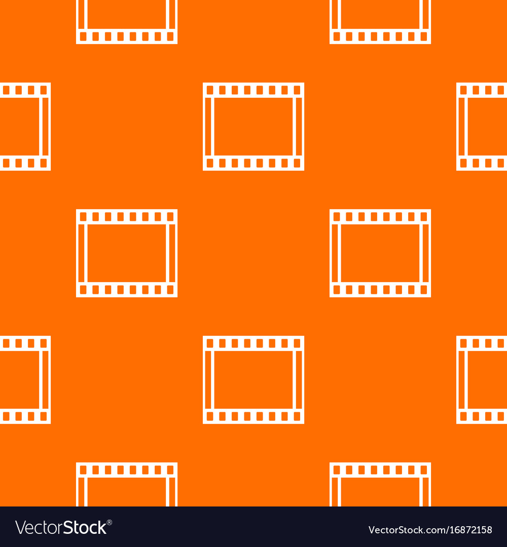 Film with frames movie pattern seamless Royalty Free Vector