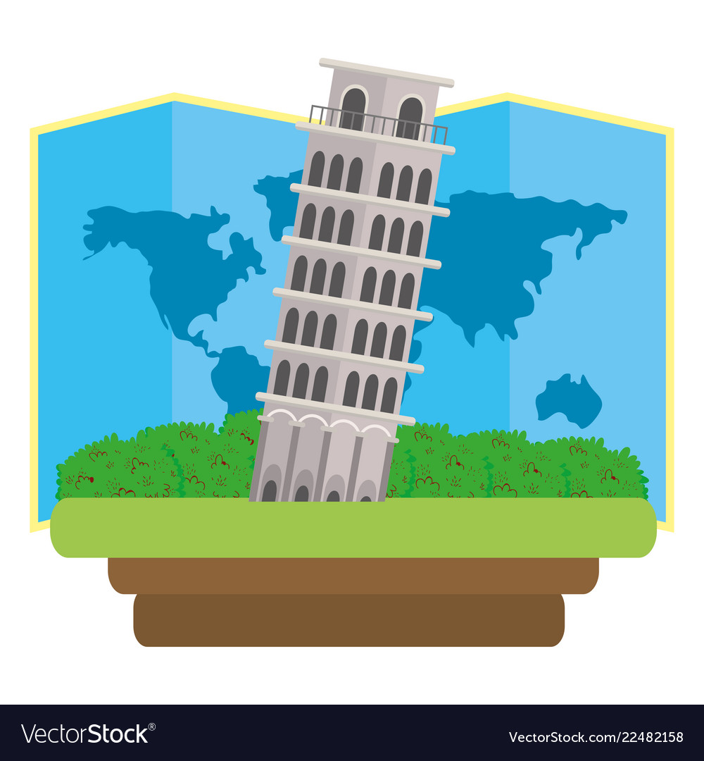 Pisa tower icon