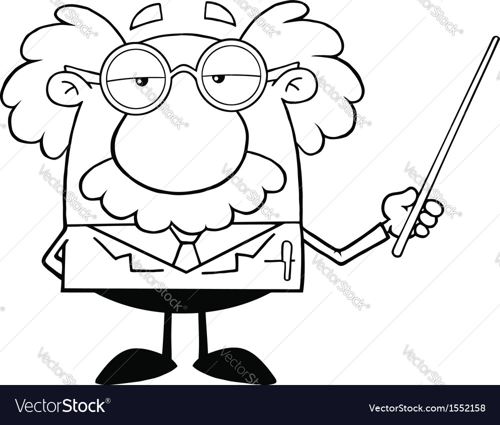 scientist cartoon royalty free vector image vectorstock scientist cartoon royalty free vector image vectorstock