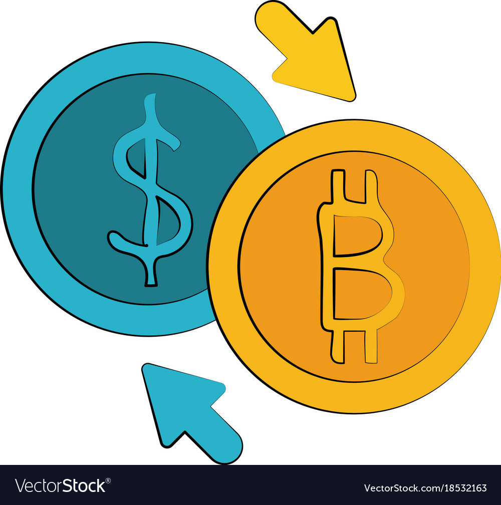 Money Exchange Royalty Free Vector Image