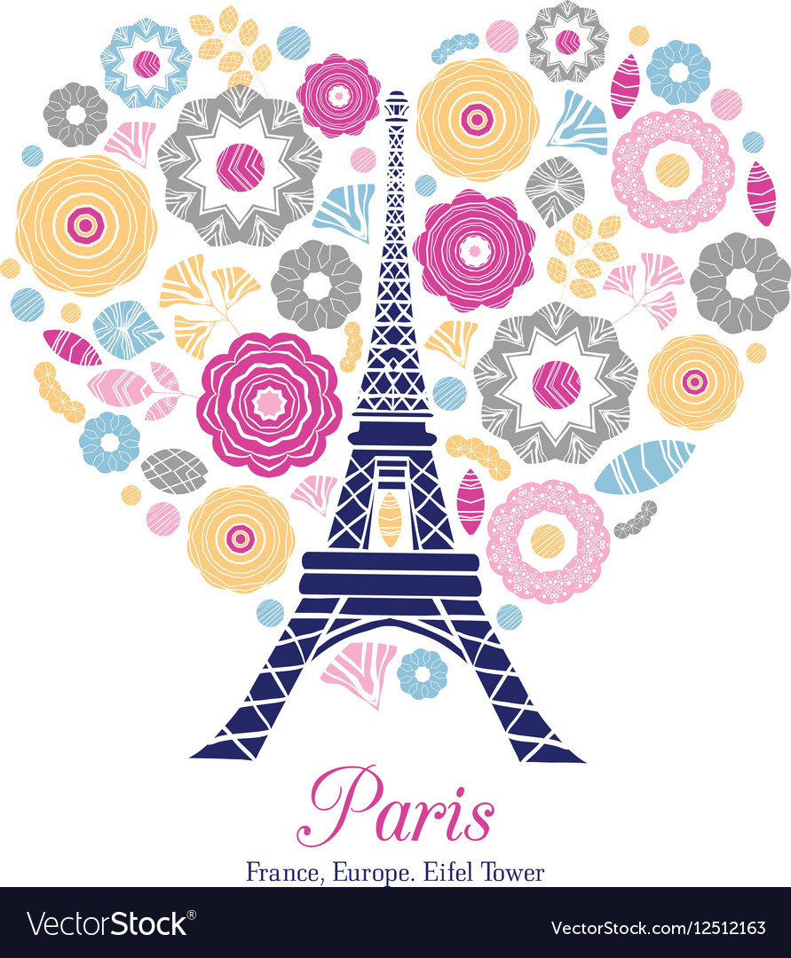 Eifel Tower Paris Bursting With St