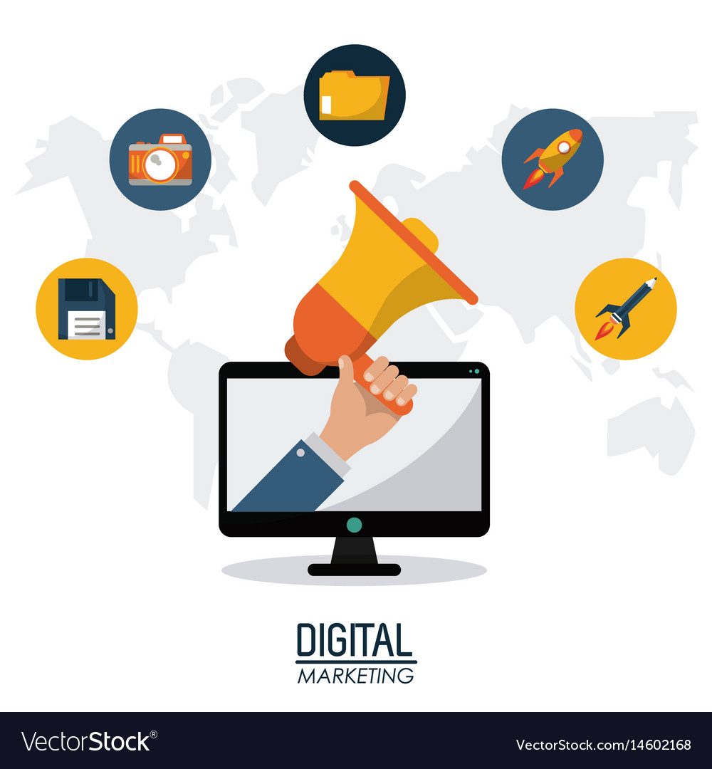 Digital marketing technology remote business