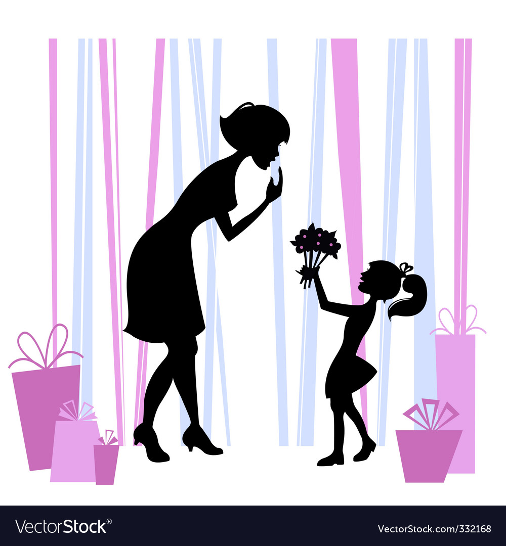 Mother's Day design vector image