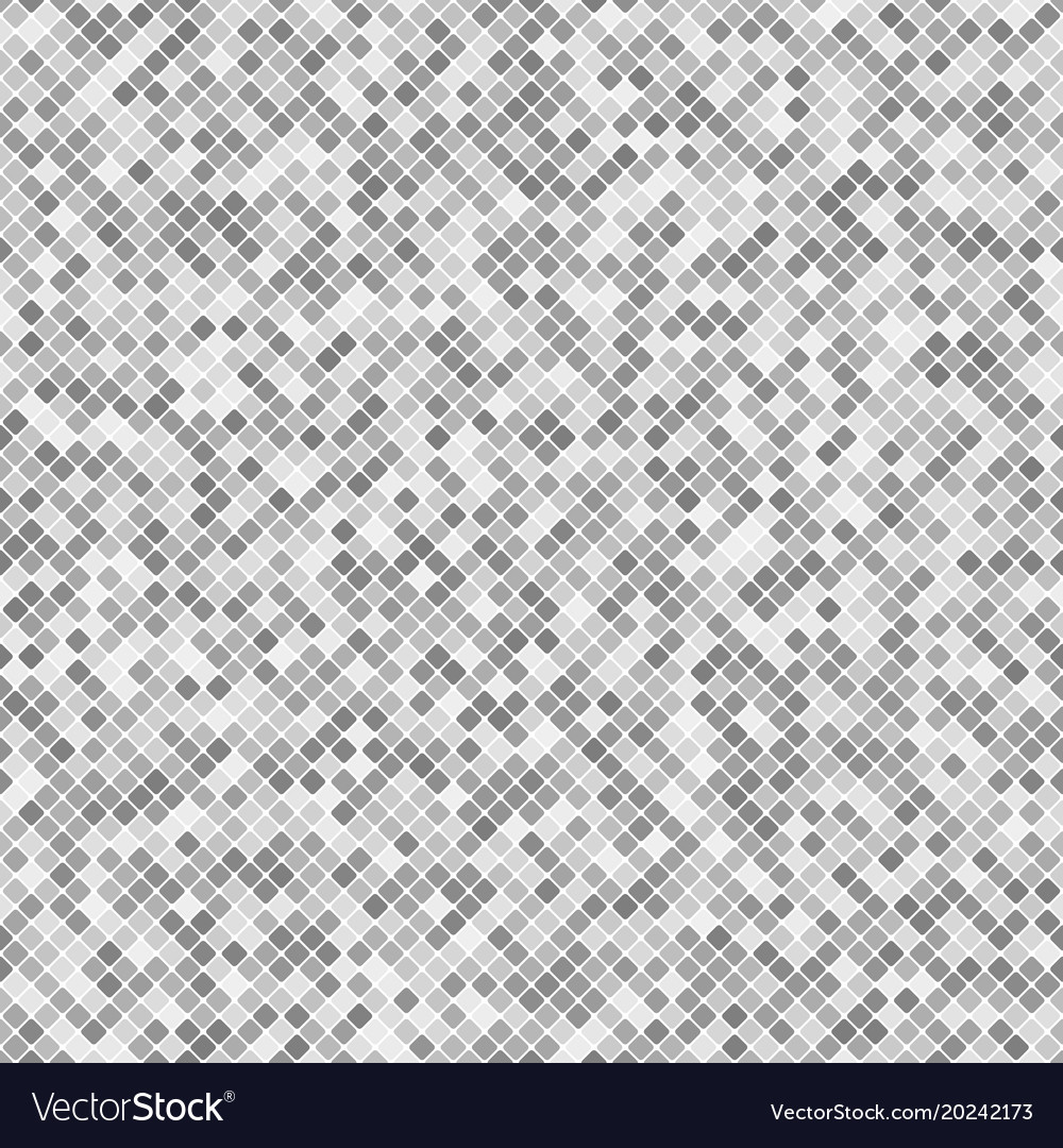 Abstract rounded square pattern background vector image