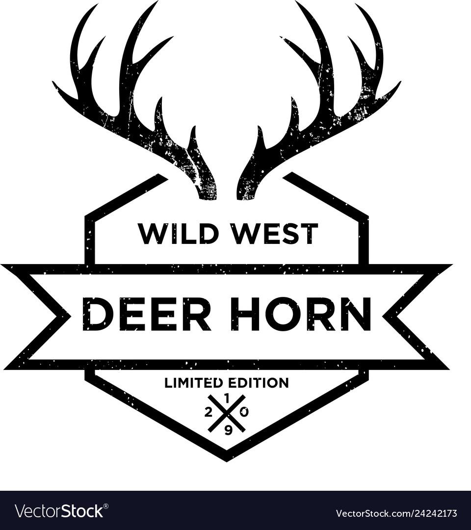 Deer horn logo design inspiration