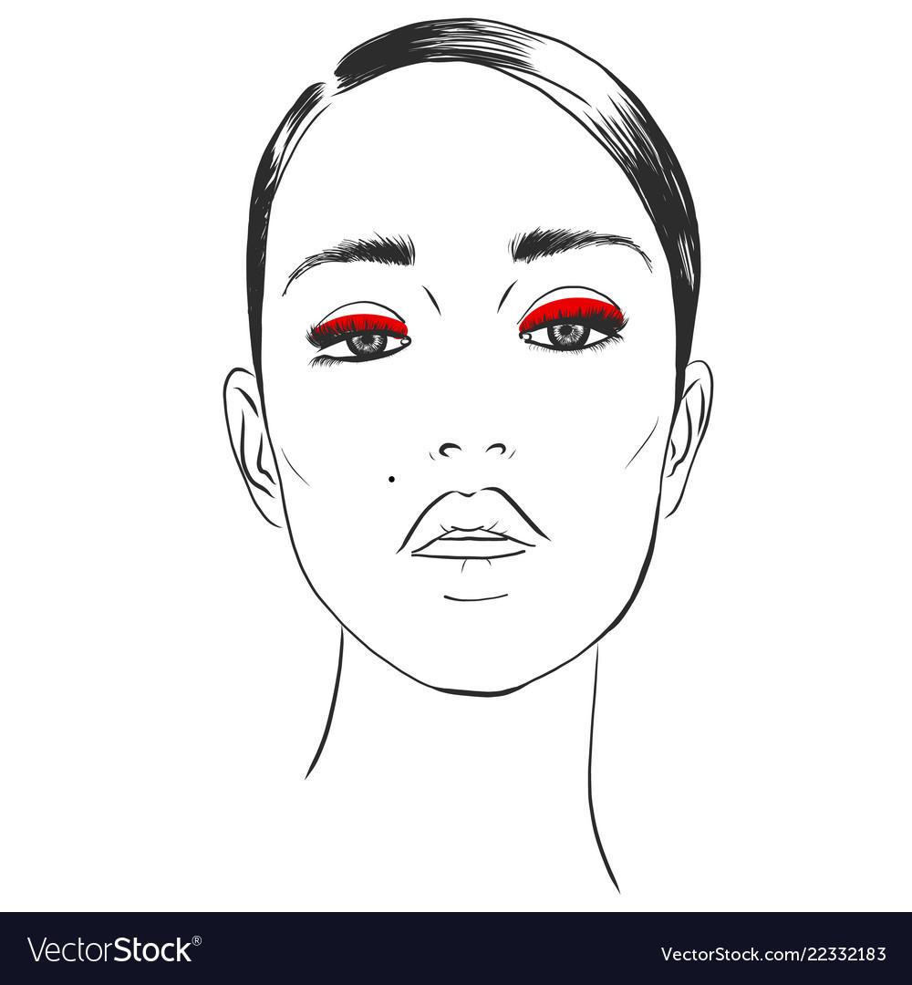 Fashion style beauty makeup cosmetics stylish