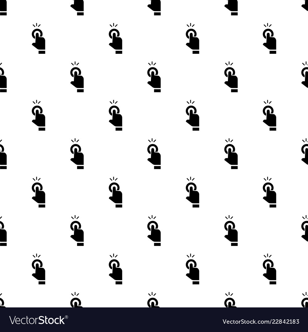 Finger touch cursor pattern seamless