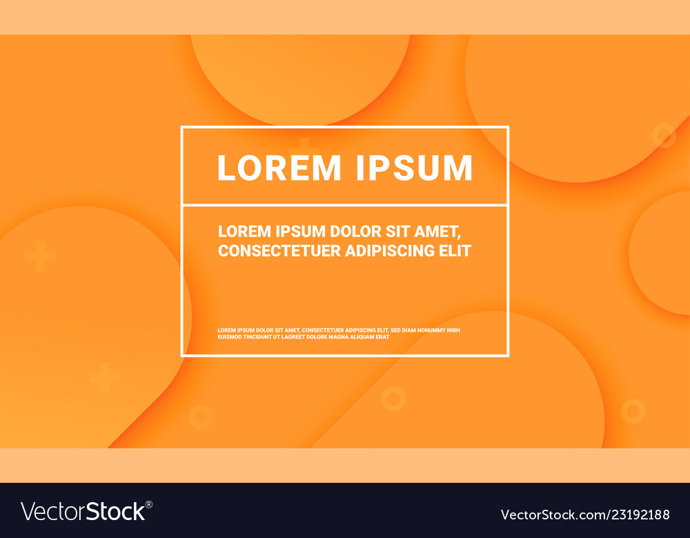Minimal orange background for presentation
