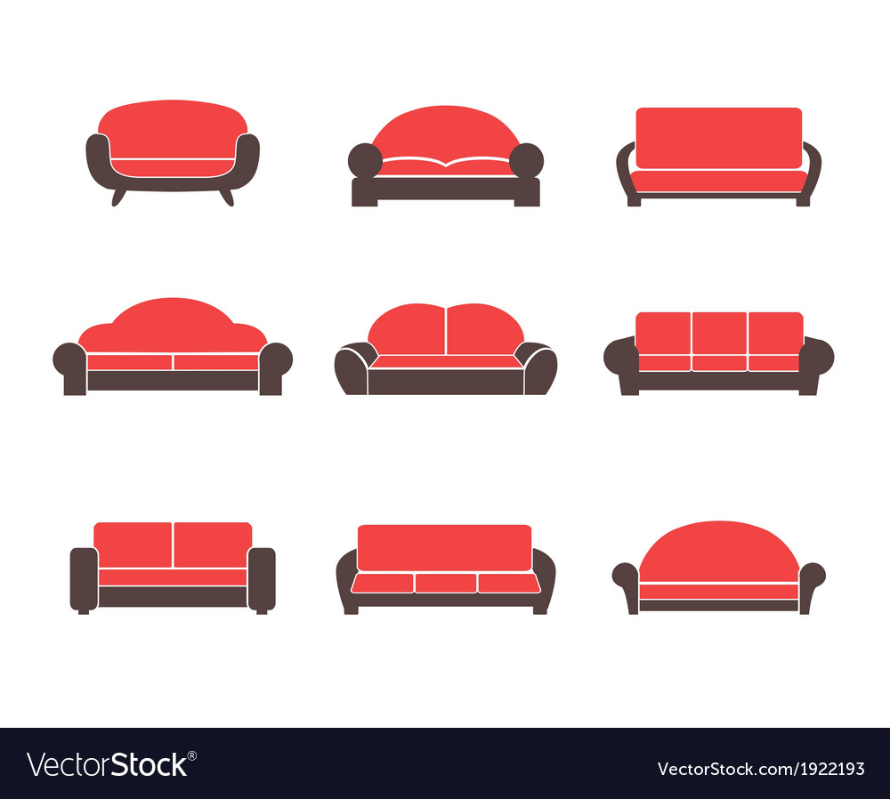 Comfortable sofas and couches