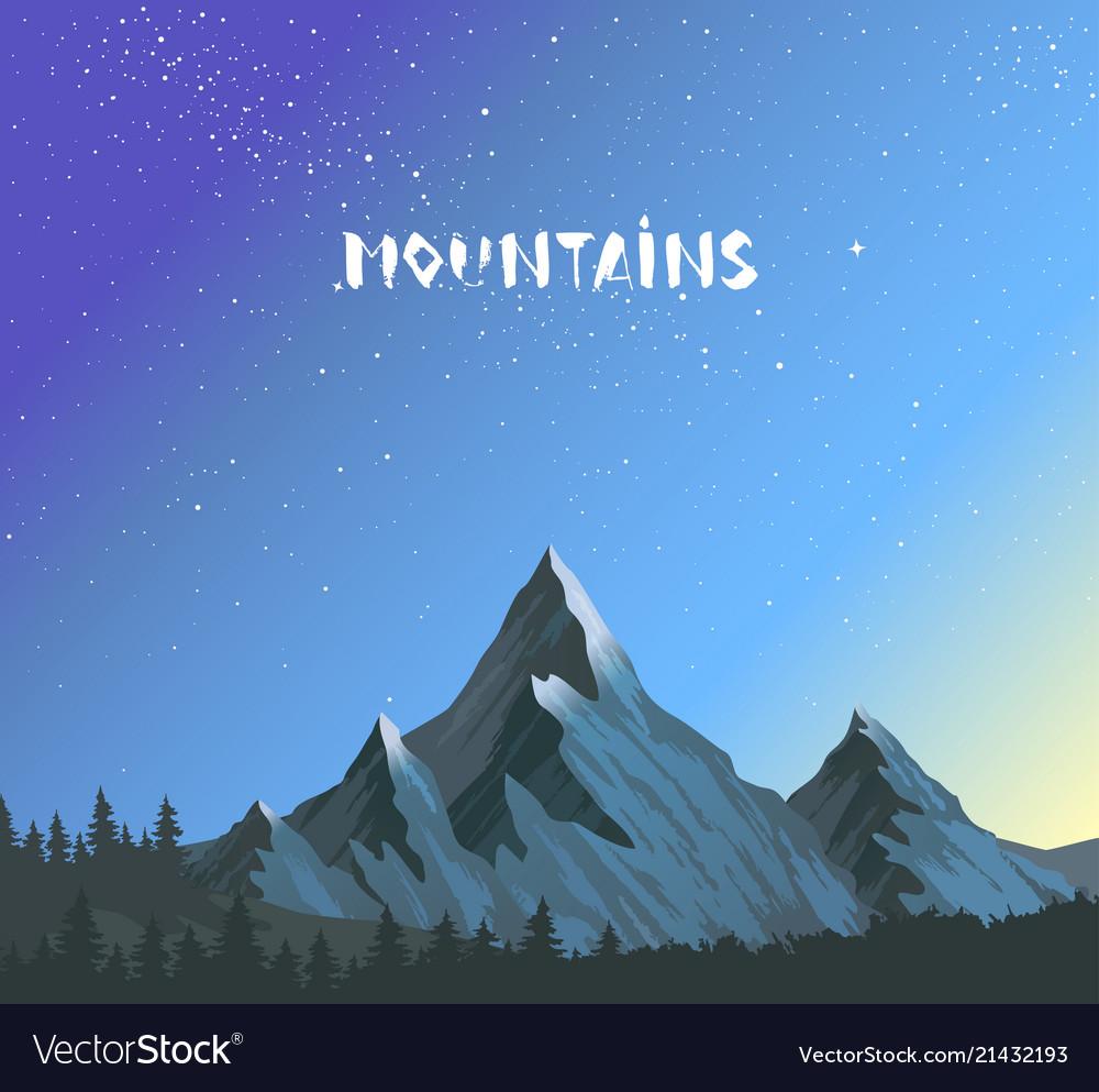 Mountains amazing