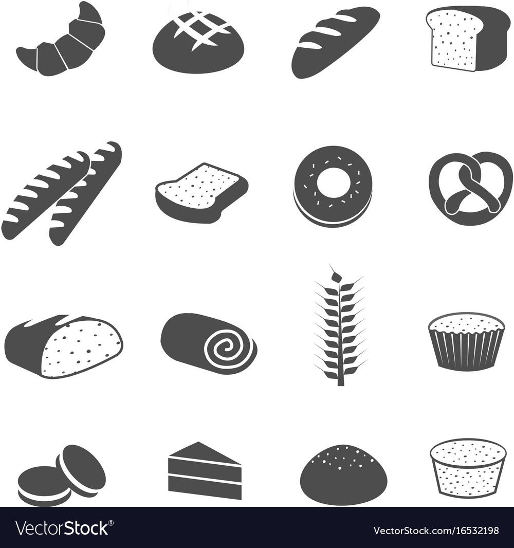 картинка значок хлеб нажать название