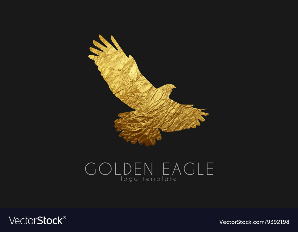 Eagle logo Golden eagle Golden bird logo