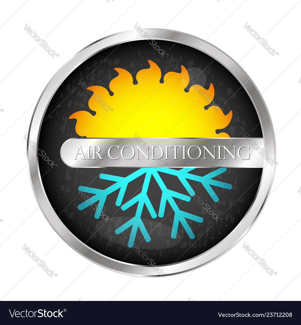 Air conditioning system symbol
