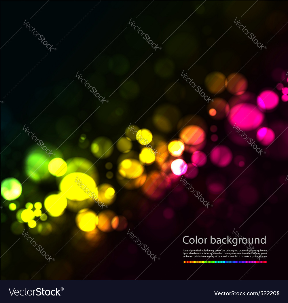 Magic sparkles vector image